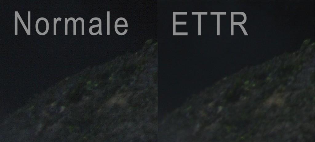 ettr_vs_normale